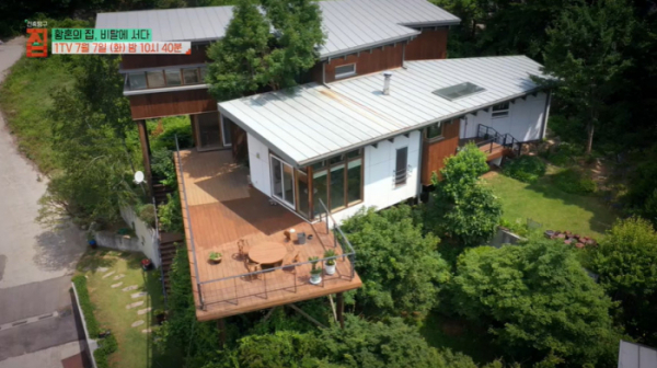 ▲'EBS 건축탐구 집' 가평 목조 주택(사진제공=EBS1)