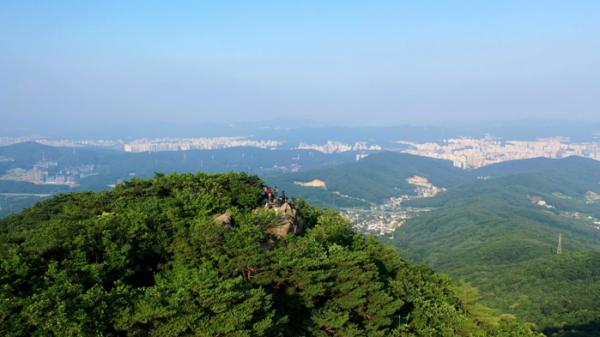 ▲'영상앨범 산' 청계산, 광교산(사진제공=KBS 2TV)