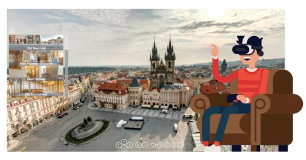▲체코 프라하 VR 투어.(virtualvisit.cz)