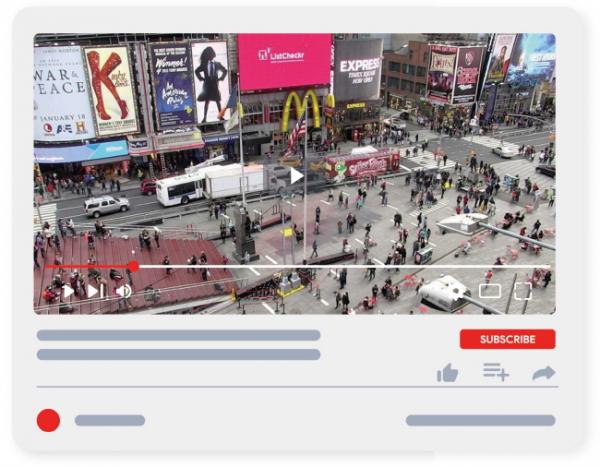 ▲어스캠 라이프로 본 뉴욕 타임스퀘어 거리.(earthcam.com)