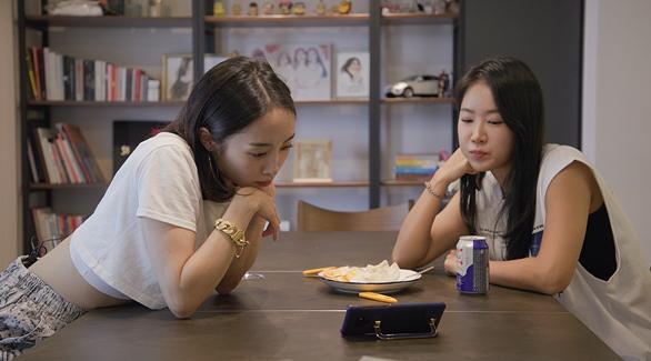 ▲'온앤오프' 소유X니콜(사진제공=tvN)