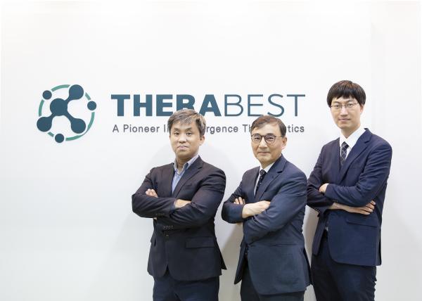 ▲테라베스트의 김신일 CSO(왼쪽부터), 기평석 CEO, 황도원 CTO.