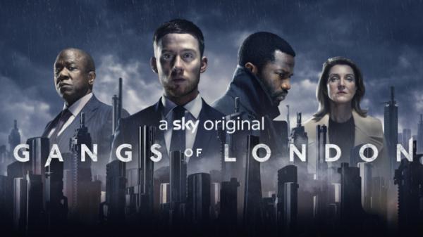 ▲갱스 오브 런던 포스터(사진제공=웨이브)