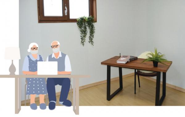 ▲남는 방은 서재나 홈시어터룸 등 다른 용도로 꾸밀 수 있다.