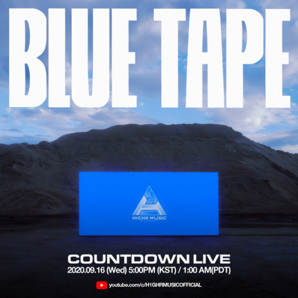 ▲'H1GHR: BLUE TAPE' (사진=하이어뮤직 제공)