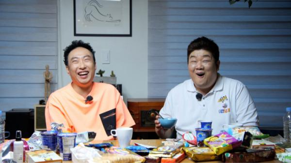 ▲'할명수' 박명수, 유민상(사진제공=JTBC)