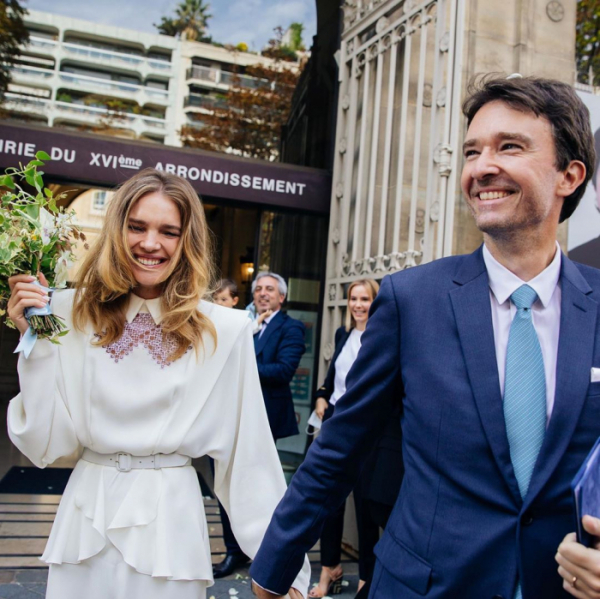 ▲나탈리아 보디아노바가 루이비통 회장 아들과 결혼했다.(사진=나탈리아 보디아노바 인스타그램)