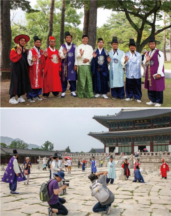 ▲따사모 회원들의 활동 모습(따사모 제공)