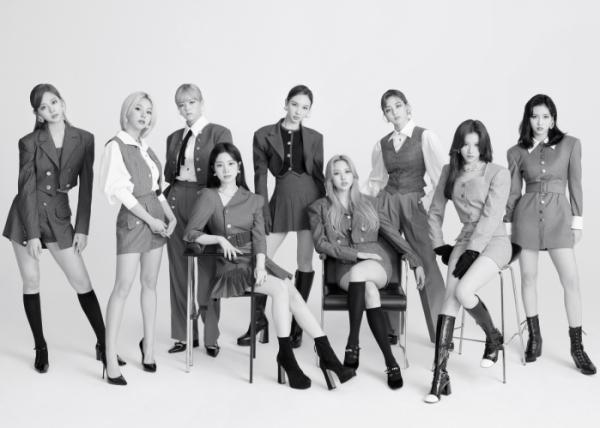 ▲JYP 걸그룹 트와이스(사진제공=JYP엔터테인먼트)