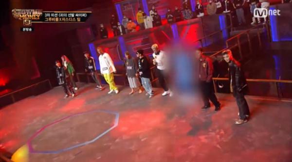 ▲오왼 쇼미더머니9 편집(사진=Mnet '쇼미더머니9' 방송화면 캡처)