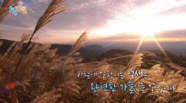 ▲황매산(사진=KBS2 '1박 2일 시즌4' 방송화면 캡처)