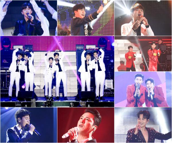 ▲'미스터트롯 TOP6 서울앵콜콘서트'(사진제공 = TV CHOSUN)