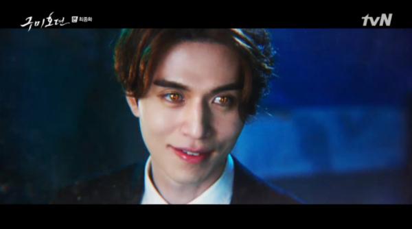 ▲이동욱 나이 600살 이상 구미호일까(사진=tvN '구미호뎐' 방송화면 캡처)