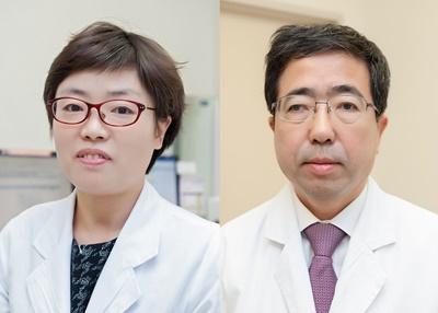 ▲서울아산병원 내분비내과 고은희·이기업 명예교수(서울아산병원 제공)