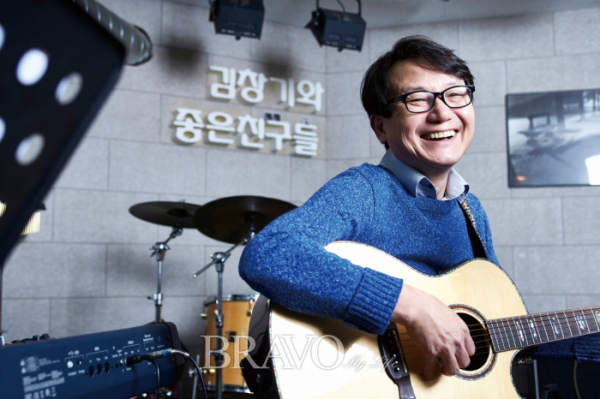 ▲전 동물원 멤버이자 정신과 의사 김창기(오병돈 프리랜서 obdlife@gmail.com)