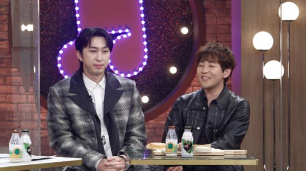 ▲'불후의명곡' 슬리피&딘딘(사진제공=KBS2)