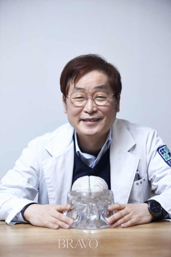 ▲용인 효자병원 치매 전문의 곽용태 교수(오병돈 프리랜서 obdlife@gmail.com)