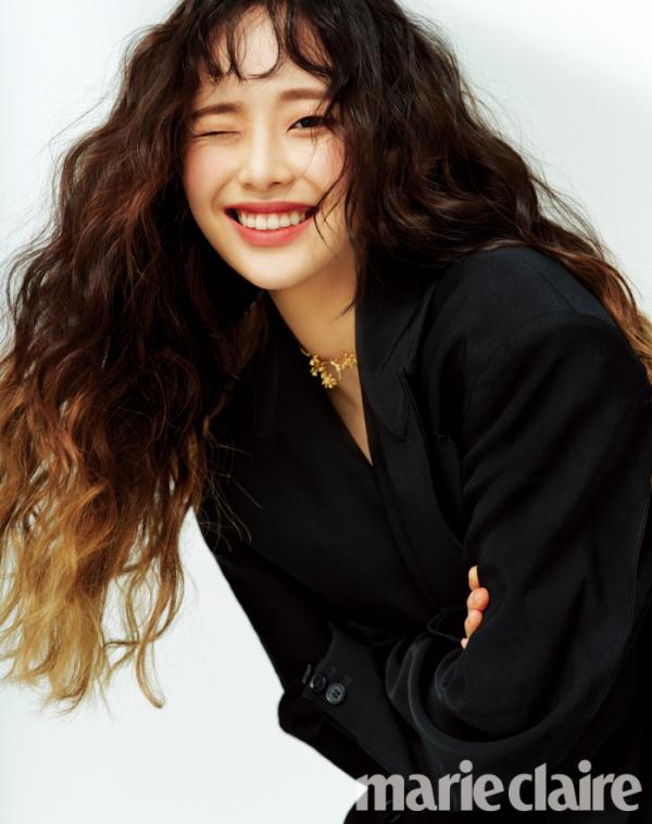 ▲이달의 소녀 츄(사진제공=마리끌레르)