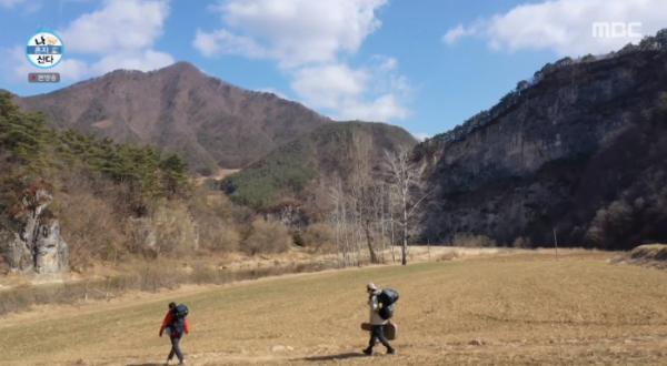 ▲기안84 헨리 캠핑 베이스 캠프(사진=MBC 방송화면 캡처)
