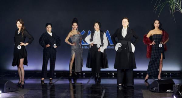 ▲본선 진출자들이 패션쇼를 선보이고 있다.(사진 오병돈 프리랜서 obdlife@gmail.com)