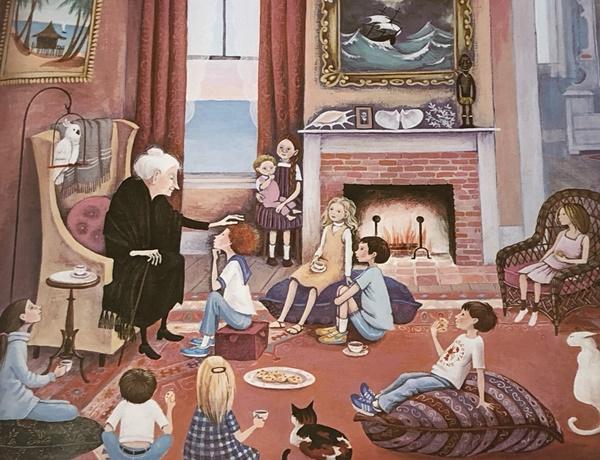 ▲바버러쿠니의 그림책 '미스 럼피우스'. 경희 씨가 바라는 이상적인 할머니의 모습이다.(시공주니어)