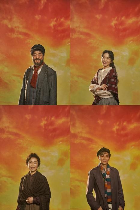▲뮤지컬 '지붕위의 바이올린' 프로필 포스터(세종문화회관 제공)