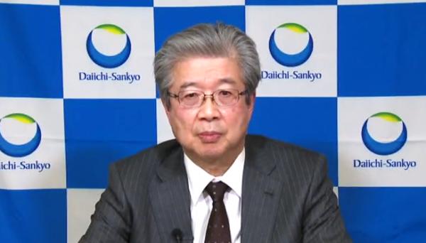 ▲수나오 마나베(Sunao Manabe) 다이이찌산쿄 회장겸 대표