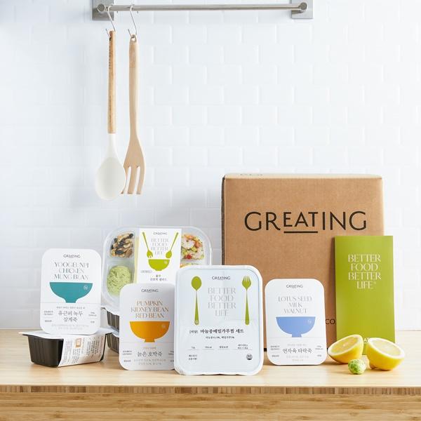 ▲현대그린푸드 '그리팅'은 따로 챙겨 먹기 부담스러운 건강 식재료를 활용해 최대 주 3회 건강 식단을 배송한다.(현대그린푸드)