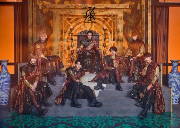 ▲그룹 킹덤 (사진제공=GF엔터테인먼트)