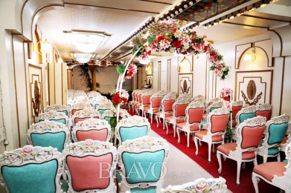 ▲예식과 사진 촬영이 이뤄지는 웨딩홀.(브라보 마이 라이프 DB)
