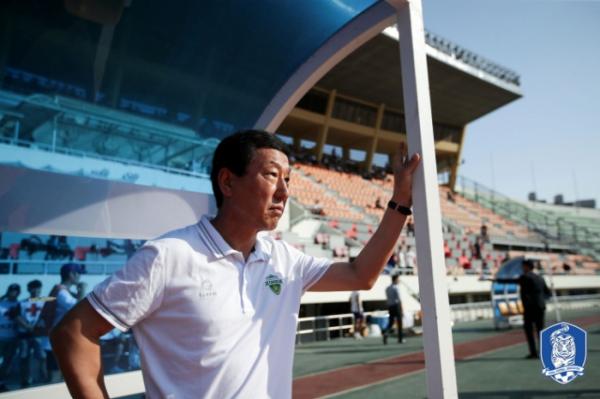 ▲1988 서울 올림픽에 참가했던 최강희. 현역 은퇴 후 K리그 구단인 전북 현대 감독으로 전북의 성공시대를 열었다.(대한축구협회)