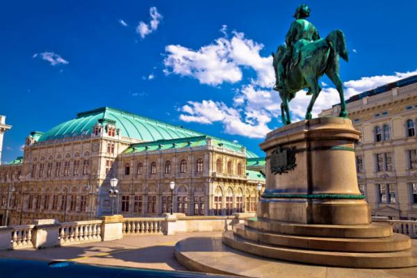 ▲비엔나의 국립오페라하우스(Vienna State Opera)의 모습.