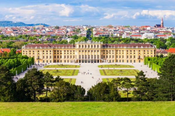▲비엔나의 쇤부른 궁전(Palace and Gardens of Schonbrunn)의 모습.