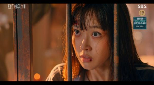▲'펜트하우스 시즌3' 등장인물 주석경(한지현)(사진=SBS 방송화면 캡처)