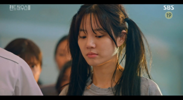 ▲'펜트하우스 시즌3' 특별 출연 이유비(사진=SBS 방송화면 캡처)