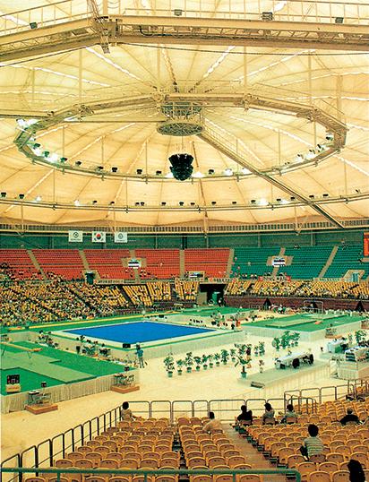 ▲88서울올림픽 체조경기장(이공 종합건축사무소)