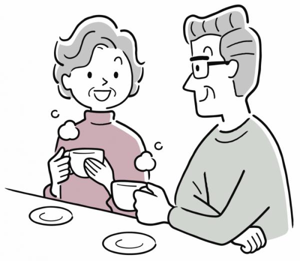 ▲부부 간의 대화가 원활하면 갈등을 충분히 예방할 수 있다(셔터스톡)