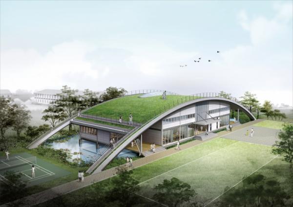 ▲삼성 더나눔 빌리지(베트남)(이공 종합건축사무소)