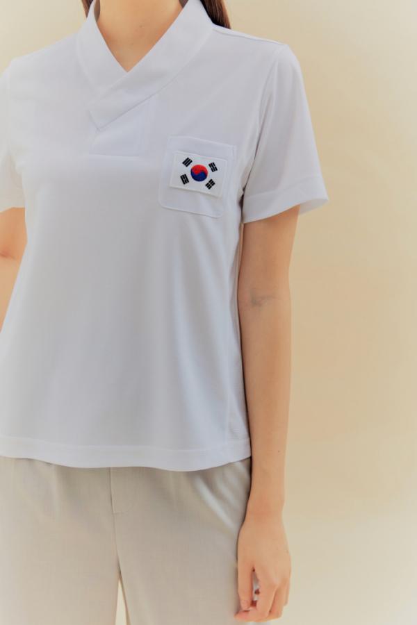 ▲2020 도쿄패럴림픽 선수단복 속저고리. (돌실나이)