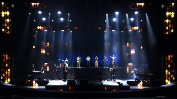 ▲김현식과 봄여름가을겨울 홀로그램 콘서트(사진제공=MBC)