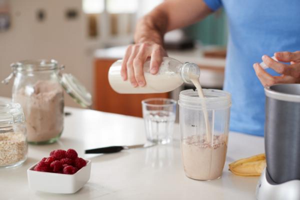 ▲단백질 위주의 식단은 급하게 찐 체중의 감량에 도움이 된다.
