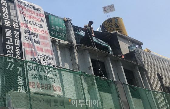 [르포] 588청량리 집창촌, '불법과 생존' 사이에 남겨진 사람들