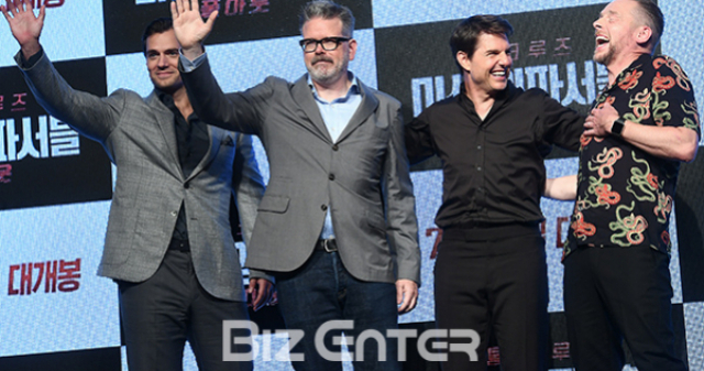 [BZ영화] '미션6', 레드카펫부터 '런닝맨'까지...본격 내한 일정 Start
