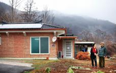 충북 괴산 산골에 사는 김종웅·방성녀 씨 부부