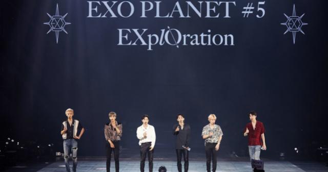 """엑소(EXO), 싱가포르 콘서트 성료 """"공연 ..."""