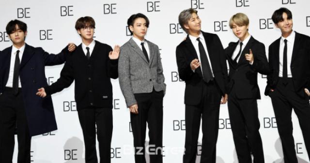"""방탄소년단(BTS), '그래미 어워드' 후보 """"기적 만들어 준 아미에 감사"""""""