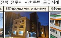 '제1회 주거복지대상'서 전주시 대상…전주형 사회주택 호평