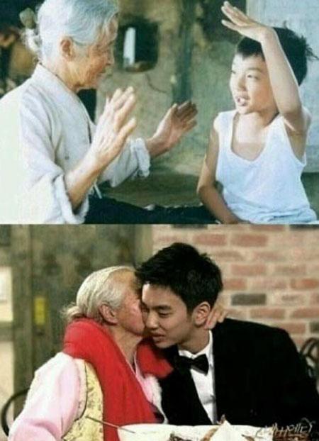 (출처=영화 '집으로' 스틸컷, MBC 방송 캡쳐)