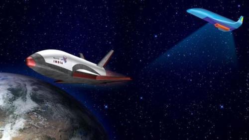 ▲인도가 추진 중인 우주왕복선. 출처 인도우주연구기구(ISRO)