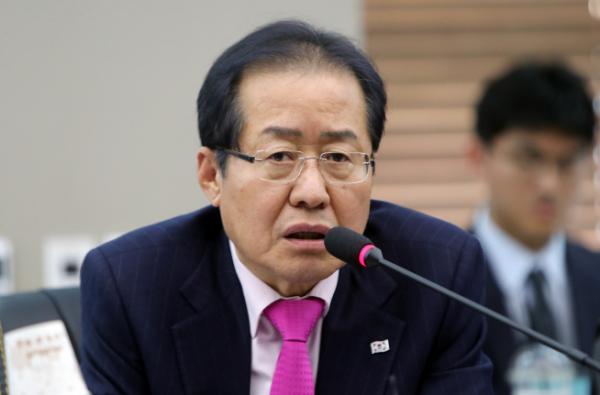 ▲홍준표 전 자유한국당 대표 (연합뉴스)